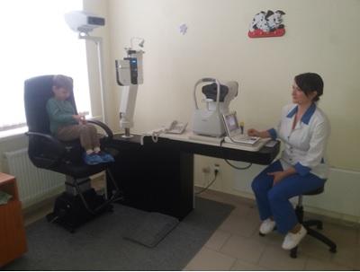 Diagnosticarea vederii la copii