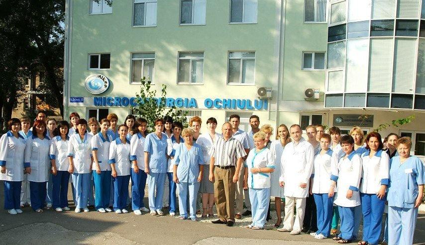 Microchirurgia ociului Chisinau
